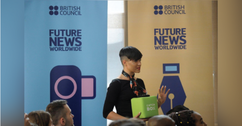 British Council's Future News Worldwide 2019 in London