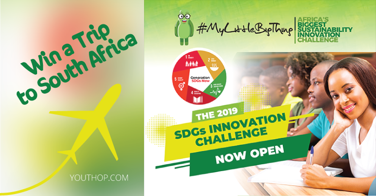 SDGs Innovation Challenge 2019 in Kenya (Win a Trip to South Africa)