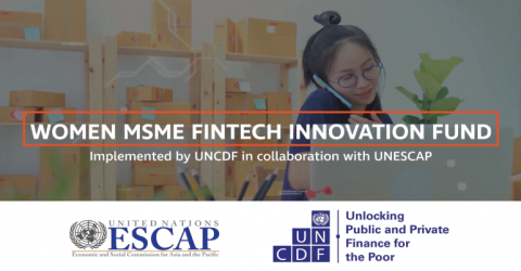 Women MSME FinTech Innovation Fund 2019