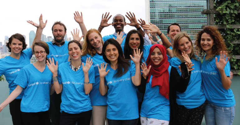 Internship at UNICEF- Administrative Support (Communication) at Cote d'Ivoire.
