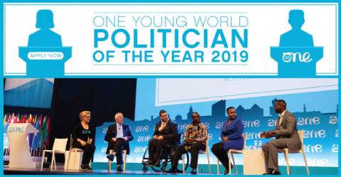 One Young World's Politician of the Year 2019