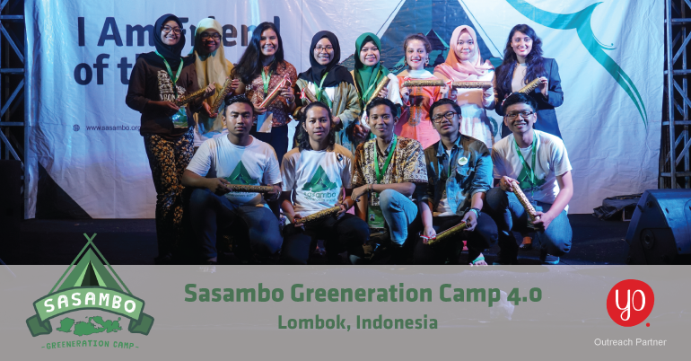 Sasambo Greeneration Camp 4.0 in Indonesia