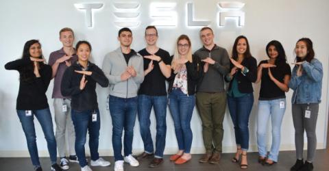 2019 Supply Chain Automation Internship in Tesla, California