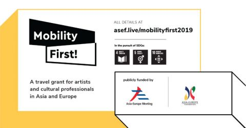 ASEF Cultural Mobility Initiative 2019 (Travel Grant of SGD 1,000-2,300)