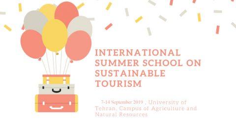 International Summer School on Sustainable Tourism 2019 in Iran