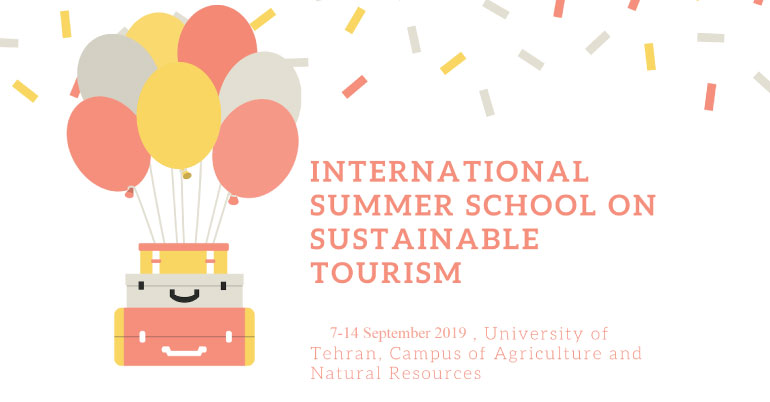 International Summer School on Sustainable Tourism 2019 in Iran