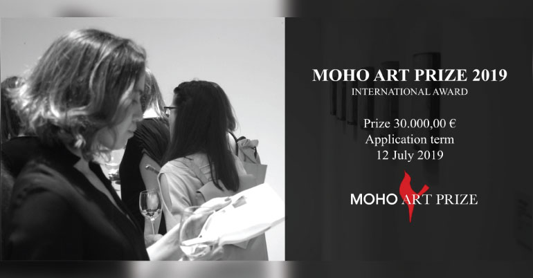 Moho Art Prize 2019 (Total Awarded Prize is 30 000,00 € ) - Youth