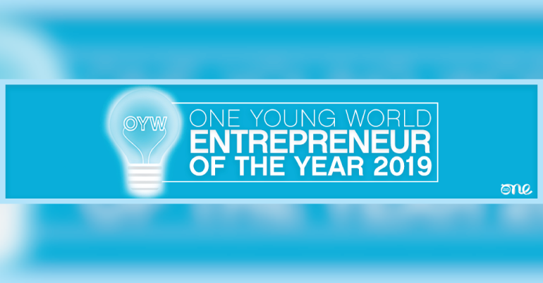 Entrepreneur of the Year Award (Attend The One Young World