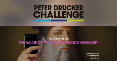 Peter Drucker Challenge Essay Competition 2019