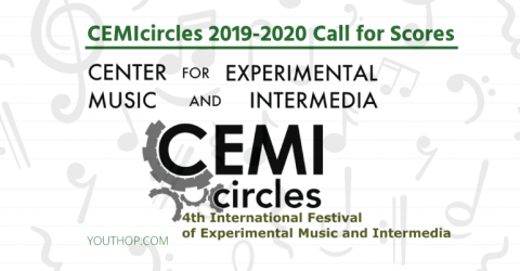 Submit Your Scores and The 4th International Festival Experimental Music and Intermedia in USA