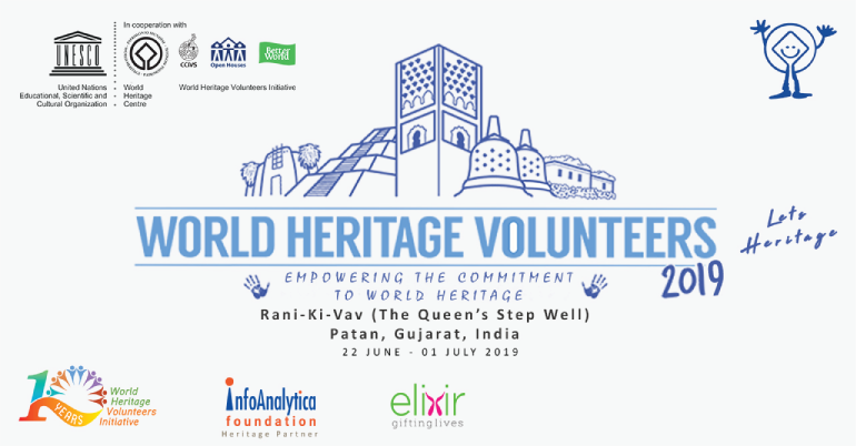 UNESCO WHV 2019 – Let's Heritage at Rani-Ki-Vav, India
