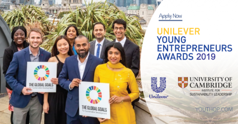 Unilever Young Entrepreneurs Awards 2019