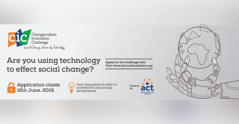 ACT Foundation Changemakers Innovation Challenge 2019