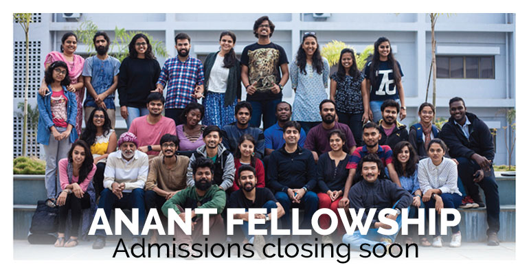 Anant Fellowship for the Built Environment 2019-20 in India