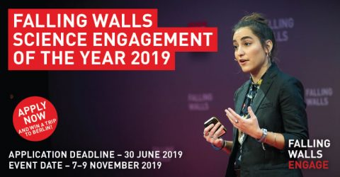 Become The Science Engager of The Year 2019 (Win a trip to Berlin!)