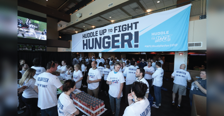 Huddle Against Hunger Scholarship 2019