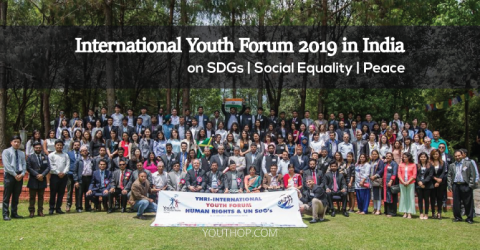 International Youth Forum 2019 on Peace, Social Justice & SDGs in India