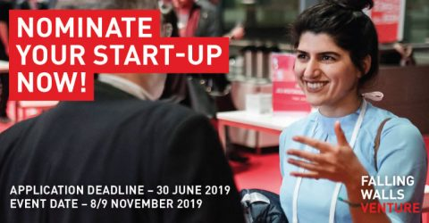 Nominations for Falling Walls Venture 2019 Are Now Open!