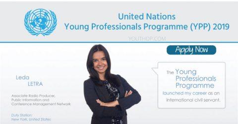UN Young Professionals Programme (YPP) 2019