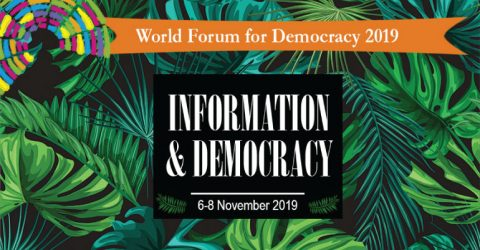 World Forum for Democracy 2019 in France (Fully Funded)