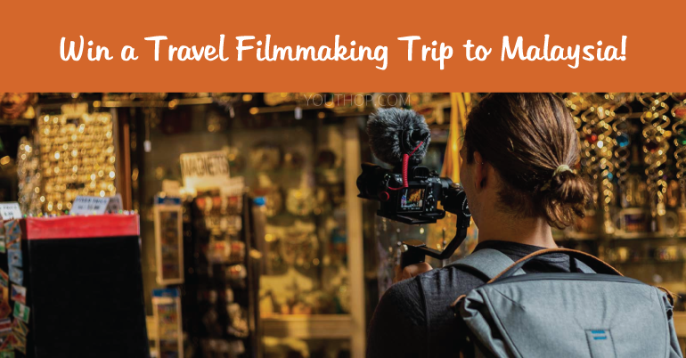 World Nomads Travel Film Scholarship 2019 (Win a Travel Filmmaking Trip to Malaysia!)