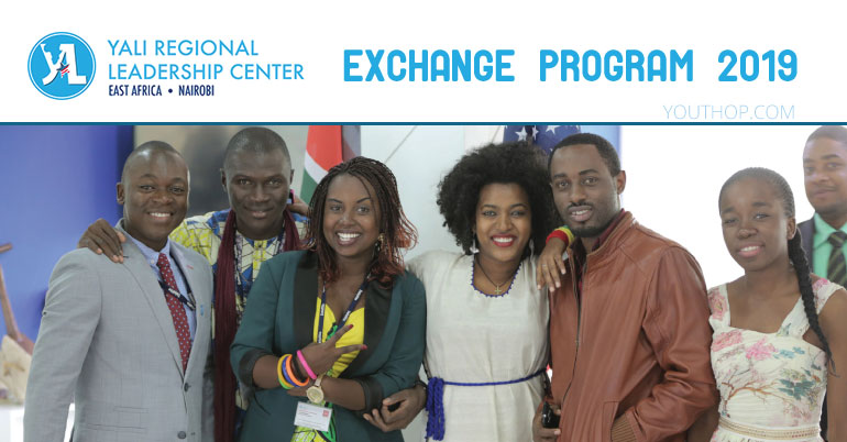 YALI East Africa Regional Leadership Center Exchange Program 2019