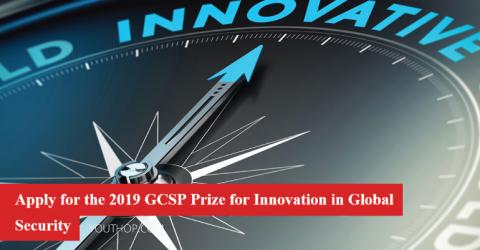 2019 GCSP Prize for Innovation in Global Security in Geneva