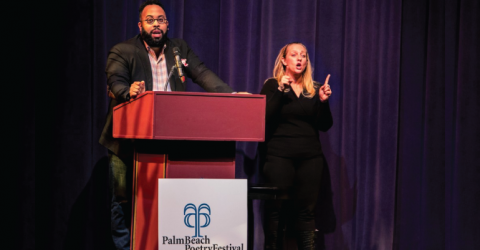 2020 Palm Beach Poetry Festival Langston Hughes Fellowship