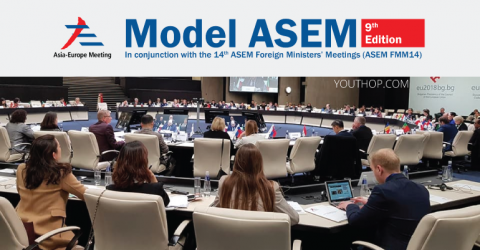 9th Model ASEM (Asia-Europe Meeting) 2019 in Madrid, Spain