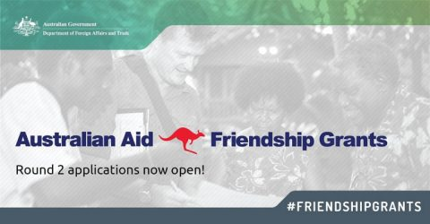 Australian Aid: Friendship Grants 2019 ($30,000 to $60,000 Funds)