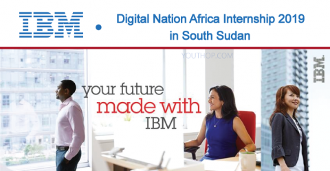 IBM Digital Nation Africa Internship 2019 in South Sudan