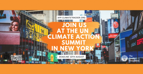 Join the Climate Action Summit 2019 in New York (Win 1 on 8 Spots)