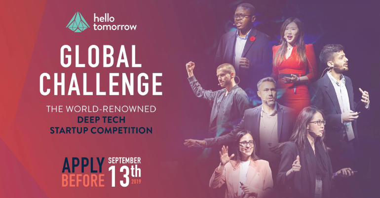 The Hello Tomorrow Global Challenge 2019: Deep Tech Entrepreneurship