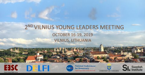Apply for the Vilnius Young Leaders Meeting 2019 in Lithuania
