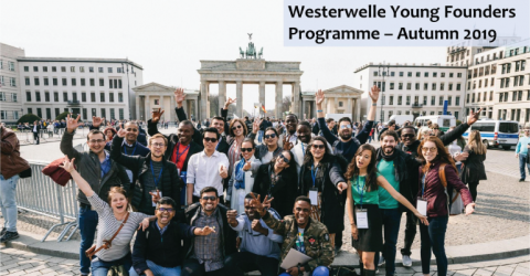 Westerwelle Young Founders Programme Autumn 2019 in Germany (Fully Funded)