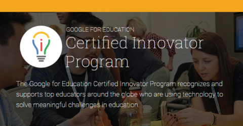 Google for Education Certified Innovator Program 2019 in USA