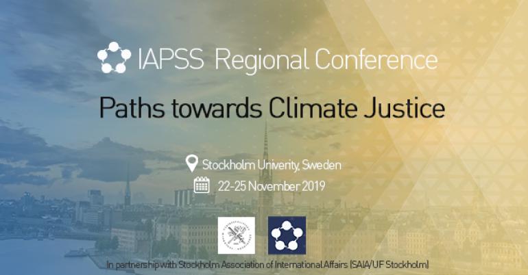 IAPSS Regional Conference 2019 in Sweden