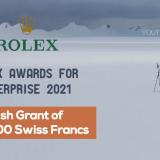 Rolex Awards for Enterprise 2021 (Cash Grant of 200,000 Swiss Francs)