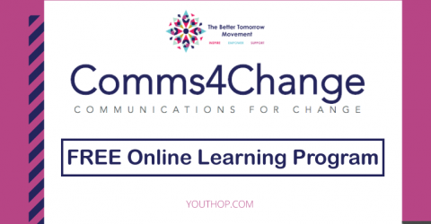 The Better Tomorrow Movement (TBTM) Communications for Change Program 2019
