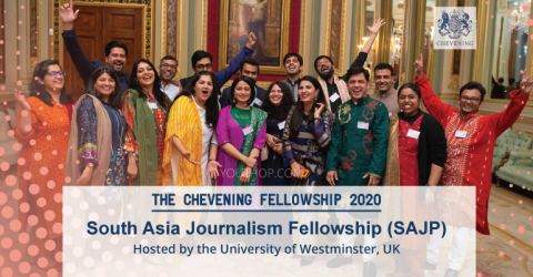 The Chevening Fellowship: South Asia Journalism 2020 in UK