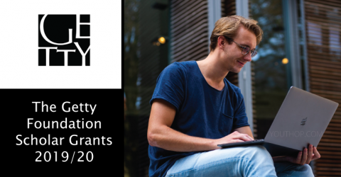 The Getty Foundation Scholar Grants 2019/20 in USA