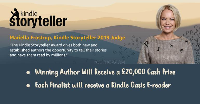 The Kindle Storyteller Award 2019 in UK