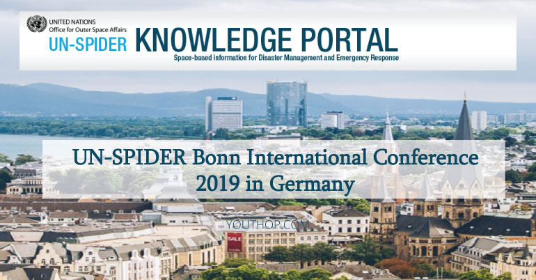UN-SPIDER Bonn International Conference 2019 in Germany