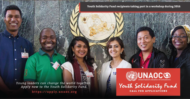 UNAOC Youth Solidarity Fund 2019 in USA