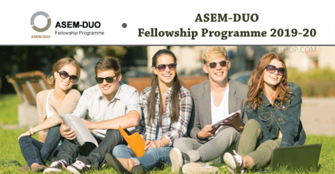 ASEM-DUO Fellowship Programme 2019-20
