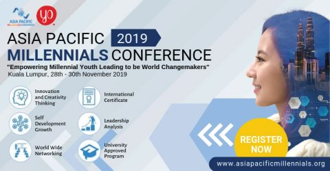 Asia Pacific Millennials Conference 2019 in Malaysia