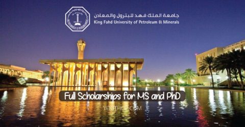 Full Scholarships for MS and PhD in Saudi Arabia (Spring 2020)