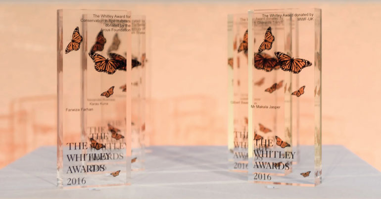 The Whitley Awards 2020 in UK (Awards Worth£40,000)