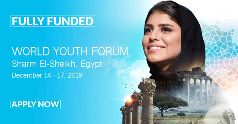 Apply for the World Youth Forum 2019 in Egypt (Fully Funded)