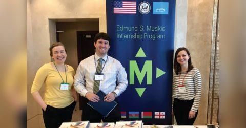 2020 Edmund S. Muskie Internship in USA